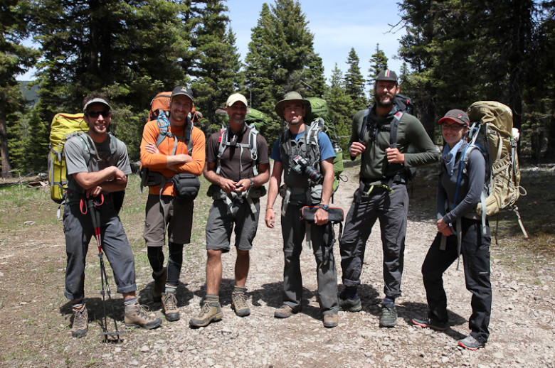David de Rothschild joins the Wolf OR-7 Expedition for a couple of days of hiking and biking.