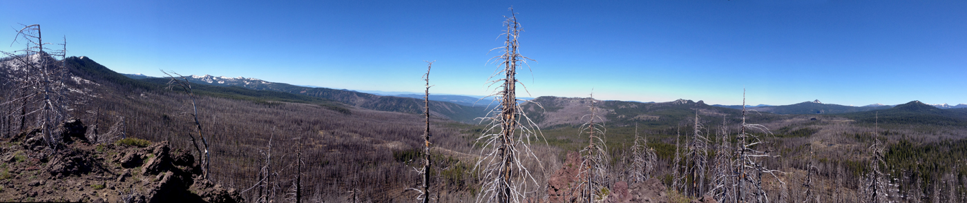 Lone wolf peak