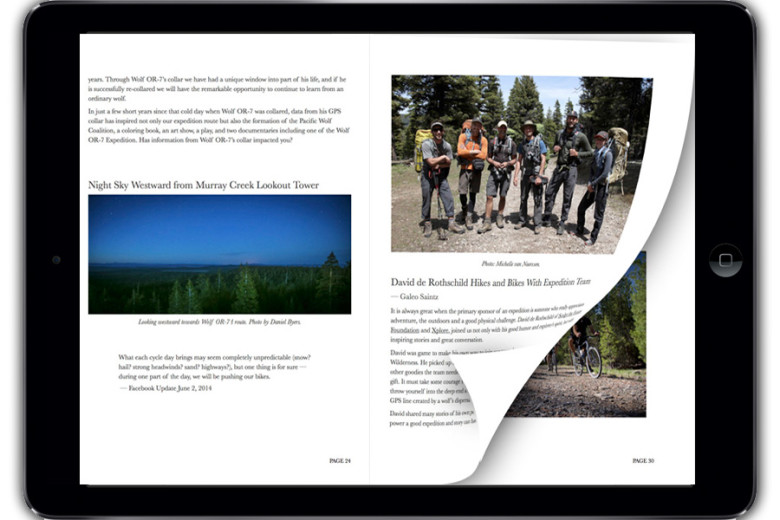"""""""In the Tracks of Wolf OR-7"""" Expedition E-Book"""